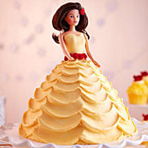 Lovely Barbie Cake: Butter Scotch Cakes