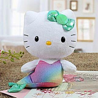 Lovely Hello Kitty Mermaid: Soft toys for birthday