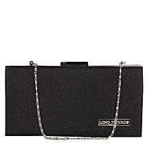 Lovely Lino Perros Black Women Clutch: Clutches