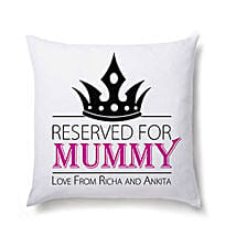 Lovely Personalized Cushion For Mom: Send Personalised Cushions to Noida