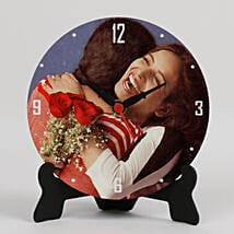 Lovely Personalized Table Clock: Home Decor Gifts Ideas