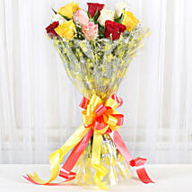 Marvellous Bouquet Of Roses: New Year Flowers