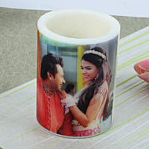 Me and You Personalized Candle: Send Gifts to Kasaragod