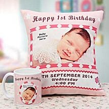 Memories The Personalized Combo: Send Personalised Cushions for Kids