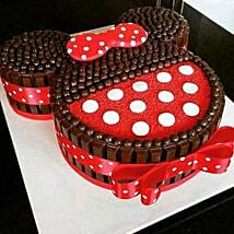 Minnie Mouse Kit Kat Cake: Minnie Mouse-cakes