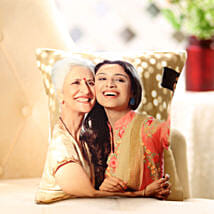 Mom n Me Personalized Cushion: Birthday Gifts for Mother