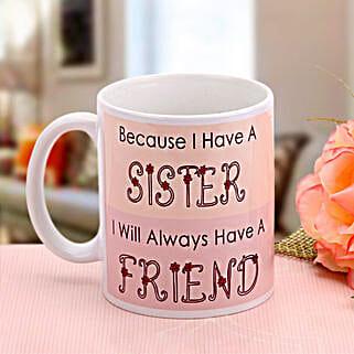 Mug For Her: Rakhi Return Gifts for Sister