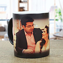 Personalised Black Magical Mug: Personalised gifts for birthday