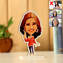 Personalised Pretty Girl Caricature: Personalised Caricatures