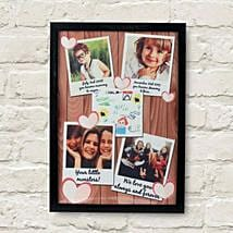 Personalized Cherishing Love Frame: Mothers Day Gifts to Amritsar