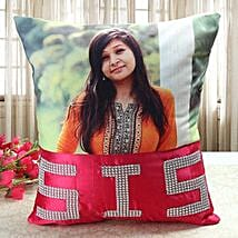 Personalized Comfy Cushion: Return Gifts for Sister