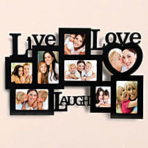 Personalized Live Love Laugh Frames: Personalised gifts for anniversary