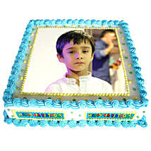 Personalized Love For Cake: birthday cake with photo