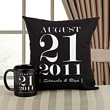 Personalized Memories Combo: Send Wedding Personalised Gifts