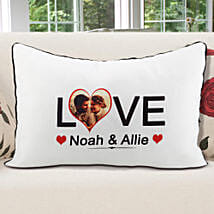 Personalized Pillow Cover White: Christmas Personalised Gifts