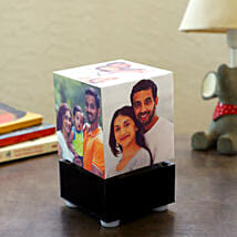 Personalized Rotating Lamp Mini: Anniversary Personalised Gifts