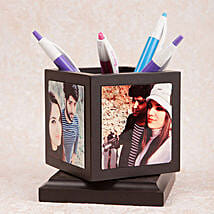 Personalized Rotating Pen Holder: Send Gifts to Rewari