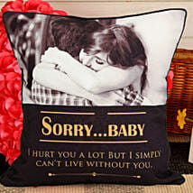 Personalized Sorry Cushion: Personalised Cushions