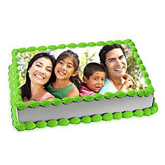 Pineapple Photo Cake: Photo Cakes for Anniversary