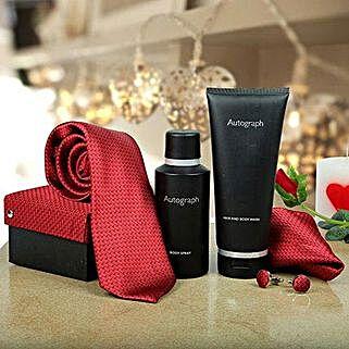 Premium Gift Hamper for Men: Romantic Perfumes