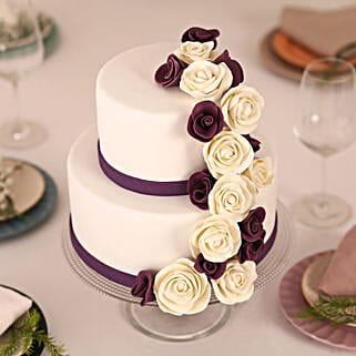 Purple Cascade: Send Designer Cakes