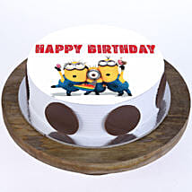 Quirky Minions Cake: