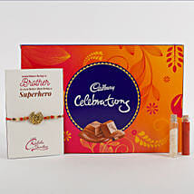 Rakhi Cadbury Celebrations Combo: Send Rakhi to Mumbai