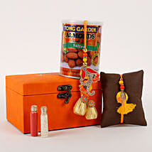 Rakhi Special Box Orange: Send Rakhi to Chennai