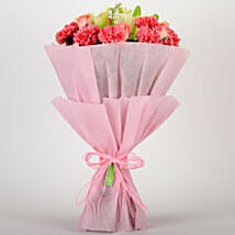 Ravishing Mixed Flowers Bouquet: Send Valentine Flowers to Bhagalpur