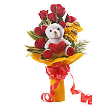 Red Choco Bouquet: Chocolate Bouquet for Birthday