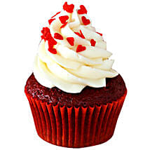 Red Velvet Cupcakes: Send New Year Cakes to Gurgaon