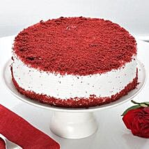 Red Velvet Fresh Cream Cake: Cake Delivery in Muzaffarpur