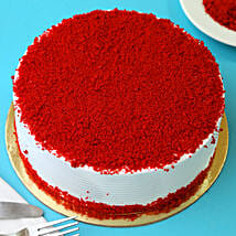 Red Velvet Fresh Cream Cake: Gifts to Ashoka Enclave - Faridabad