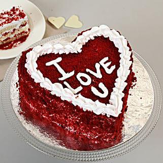 Red Velvet Love Cake: Valentine Gifts for Wife