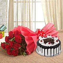 Relishing Love: Women's Day Flowers & Cakes