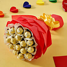 Rocher Choco Bouquet: Gifts to Bathinda