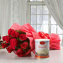 Roses Glory: Fathers Day Sweets & Flowers