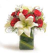 Roses N Lilies: Congratulations Flowers for Him