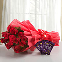 Rosy N Sweet: Flowers & Chocolates for Love