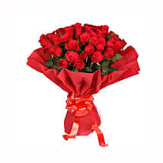Ruby Red: Flowers to Haldwani