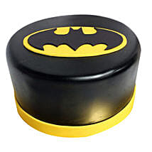 Shining Batman Cream Cake: Gifts to Gwalior