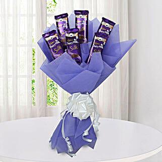 Silk Chocolate Bouquet: Send Diwali Gifts for Kids