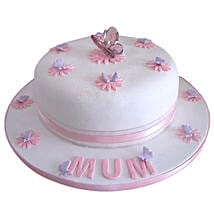 Simple and Sweet Love Mom Cake: Hyderabad Mother's Day gifts