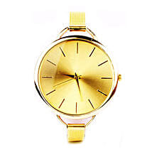 Sleek Chic Gold Watch For Women: Buy Watches