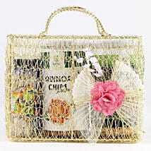 Snacks Hamper In Mesh Bag: Birthday Combos