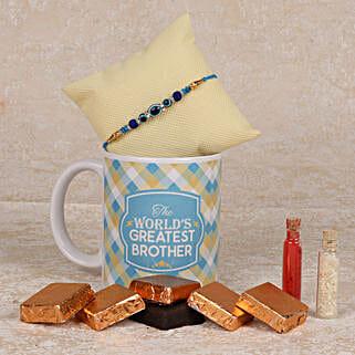 Special Handmade Chocolates Rakhi Combo: Rakhi Gifts to Kadapa