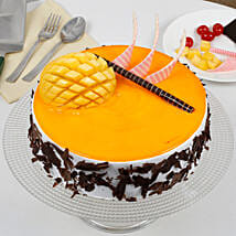 Special Mango Fruit Cream Cake: Birthday Gifts for Girls