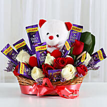 Special Surprise Arrangement: Send Flowers & Chocolates to Indore