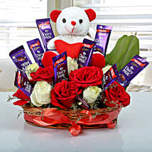 Special Surprise Arrangement: Chocolate Bouquet Delivery to Lucknow
