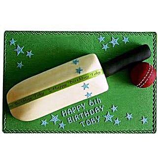 Splendid Cricket Bat Ball Cake: Cakes for Him